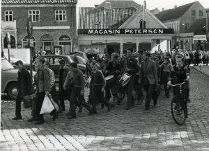 Torvet Varde.1967 skoleidrætsstævne