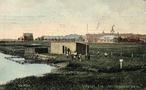 August 2016. Badning i Varde Å. Ca. 1908